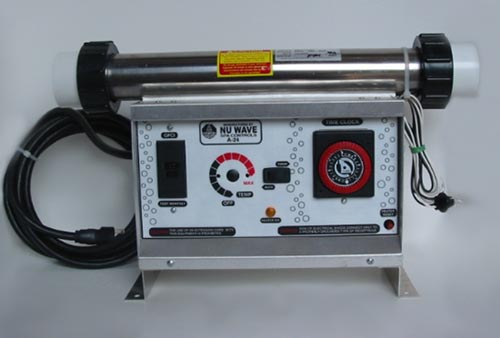 NU-1000, 120V/240V convertible (shown with power cord-not included)