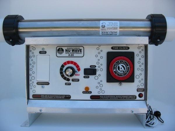 A24 240V nu 3000, a 24, 230v, 2 pump hot tub control by nu wave spa controls nu wave spa controls a-24 wiring diagram at suagrazia.org