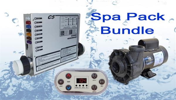 United Spas Cbt7 Spa Pack Bundle 2hp Spa Pack Bundle