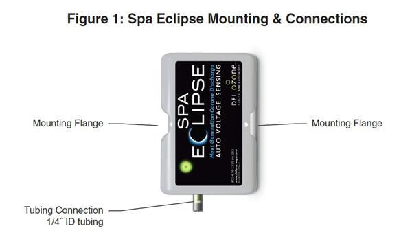 del ozone   spa eclipse ozone generator   model ecs     on eclipse  engine