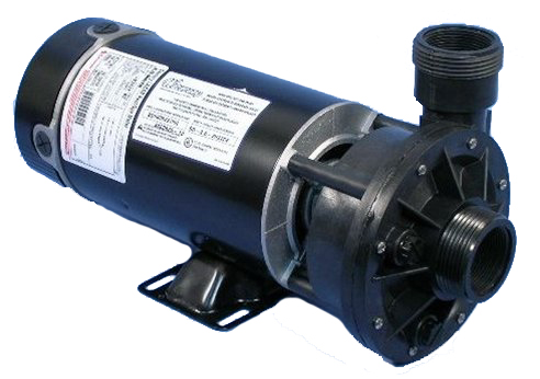 Waterway spa pumps part no 3420610 0z 1 5 hp side for Spa motor and pump