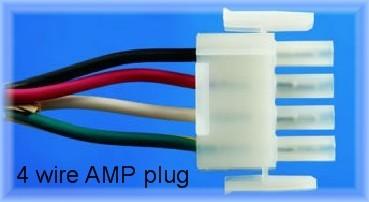 Amp Cord for Spa Pump   4 wire pump cord