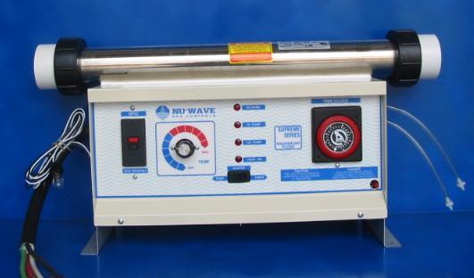 NU-3000, A-24, 230V, 2-PUMP HOT TUB CONTROL | Nu-wave Spa Controls on